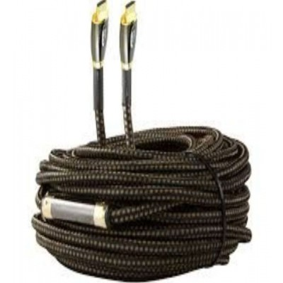 50 mtr HDMI NYLON BREADED WITH AMPLIFIER CABLE
